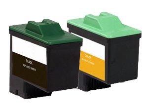 Lexmark Twin Pack Color Ink Cartridge (10N0202) -