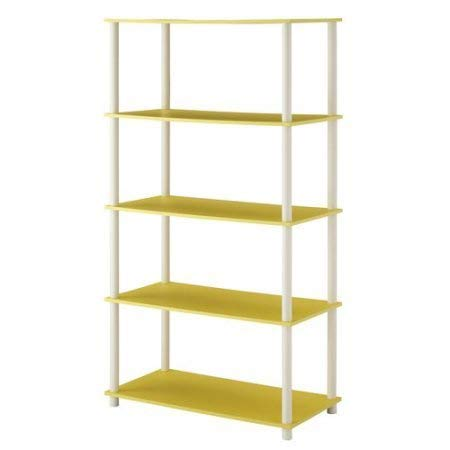- Mainstays No Tools Assembly 8-Cube Shelving Storage Unit, Multiple Colors (Yellow)