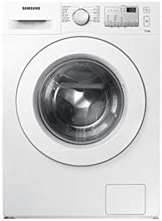 Samsung 7 Kg 1200 RPM Front Load Washing Machine, White - WW70J4373MA, 1 Year Warranty