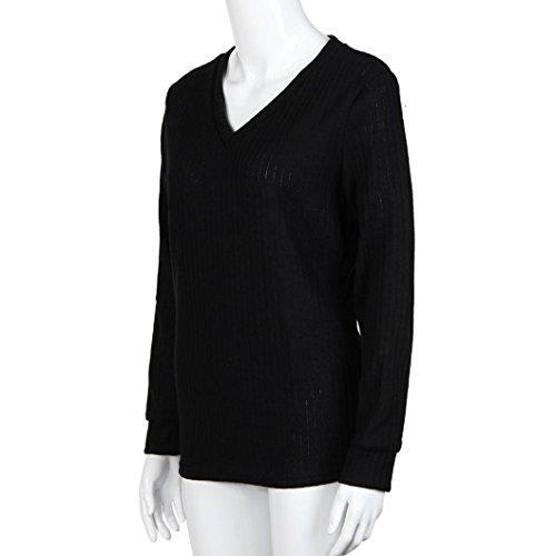 Transer - Pull - Femme noir noir Taille Unique