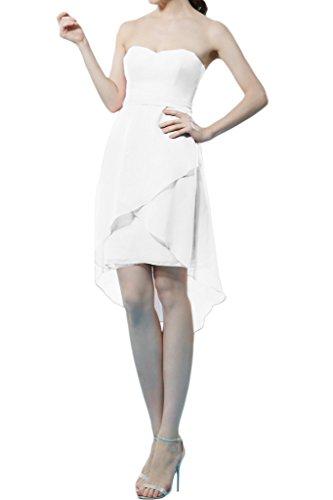 Missdressy -  Vestito  - linea ad a - Donna bianco 38