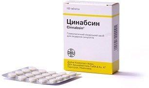 Cinnabsin® 100 comprimidos/Dulces - Tratamiento ...