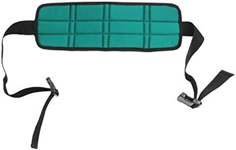 Healifty 車椅子用安全ベルトハーネス幅広シート拘束ストラップ介護用品高齢者用(緑)