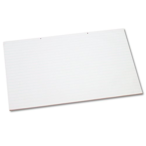 Pacon 3051 Primary Chart Pad w/1in Rule, 24 x 36, White, 100 Sheets by Pacon