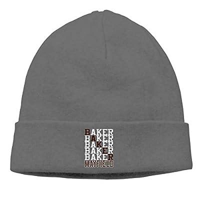 Veta Megica Men's Winter Warm Beanie Hats Cleveland Mayfield Text Slouchy Beanie for Women