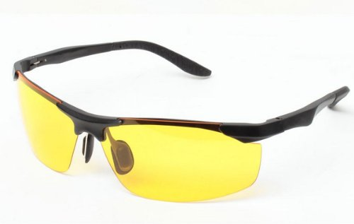TELAM Night Vision Driving Glasses Polarized Sunglasses Glare Driving (Vision Sonnenbrille)
