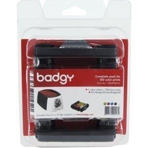Evolis Badgy100 & 200 Consumable kit - Compatible with Badgy