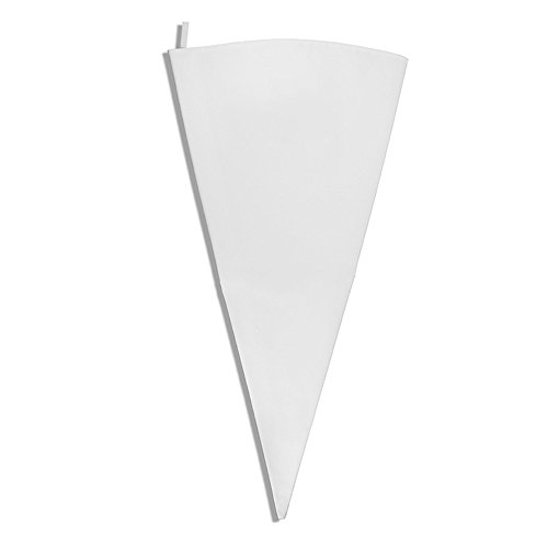 New Star Foodservice 37760 Commercial Grade Plastic Coated Canvas Pastry Bag, 28-Inch (Decorating Bag Coated Plastic)