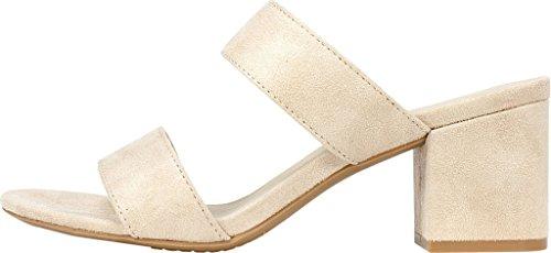 Suedette Heel Rialto Shoes 'CANNON' Sand Women's xXrt4CqwX