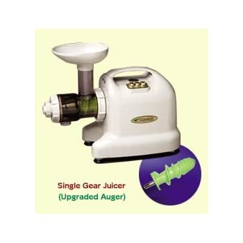 Samson 6-1 Single Auger Wheatgrass & Multi Purpose Juicer - Model GB9001 - IVORY