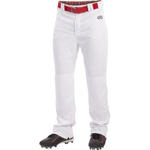 Rawlings Sporting Goods Mens Launch Pant, White, x (Professional Baseball Pants)