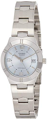 Casio Enticer Ladies Analog Blue Dial Women #39;s Watch   LTP 1241D 2ADF A850