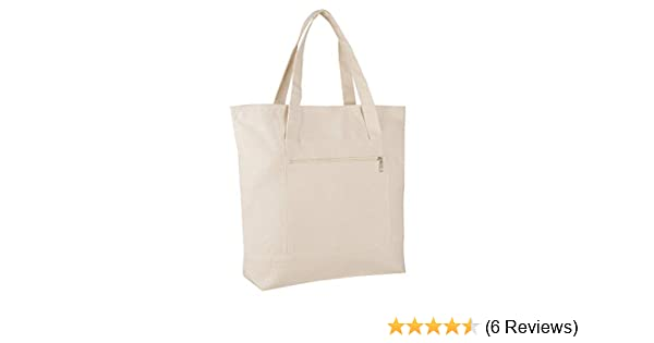 e4910a683 Pack of 12 - Heavy Duty Canvas Tote Bags BULK Bags Reusable Grocery  Shopping Logo Blank Luggage Totes Canvas Bags Bulk Lot Wholesale Tote Bags  with Zipper ...