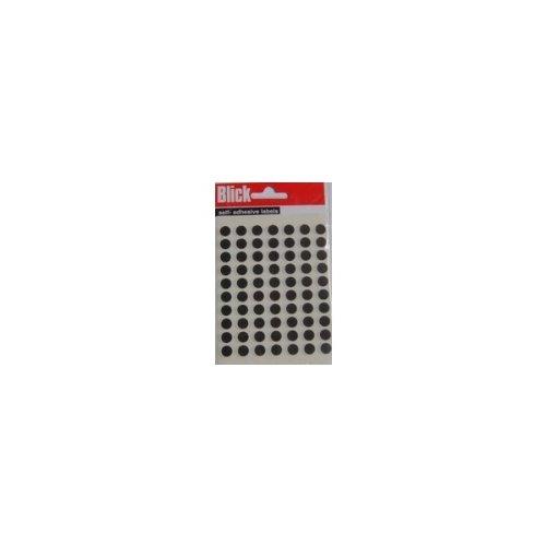Blick Label Bag 8mm Black Pack of 490 RS001751 Pack of 20 ()