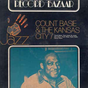RB96 LP Count Basie & The Kansas City 7 VINYL (Count Basie And The Kansas City 7)