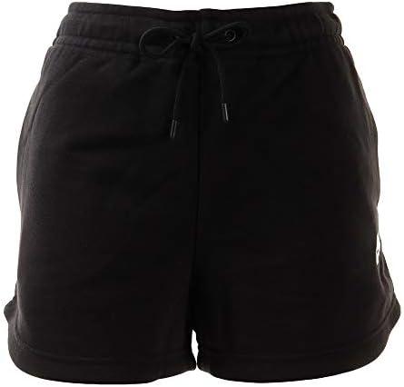 ウィメンズ エッセンシャル フレンチテリー ショート ショートパンツ (CJ2159) (010)ブラック XL