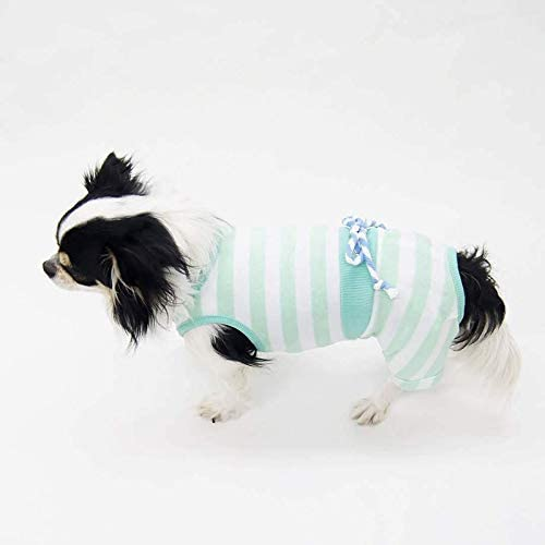 シーサイドロンパース型紙 eco印刷 小型犬SS+~M