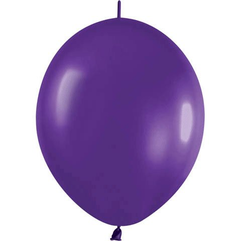Metallic Link o loon Balloons 12 Inch package product image