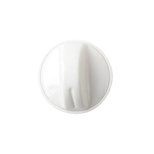 LIOOBO Plastic Washer Dryer selector Washing Machine Timer Control knob Universal Switch knob (White)