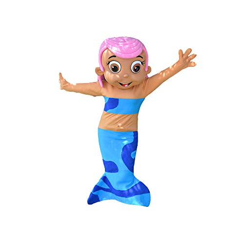 Molly Pink Girl Bubble Guppies Mermaid Mascot Costume Character Party Birthday Halloween ()