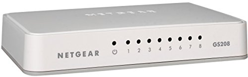 NETGEAR 8-Port Gigabit Desktop Switch – Essentials Edition (GS208), Best Gadgets