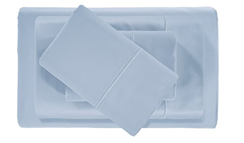 Hotel Collection! Luxury Sheets on Amazon Top Seller in Bedding! - Blockbuster Sale: Todays Special - Luxury 1000 Thread count 100% Egyptian Cotton Sheet Set, King - Light Blue (Sale Amazon)