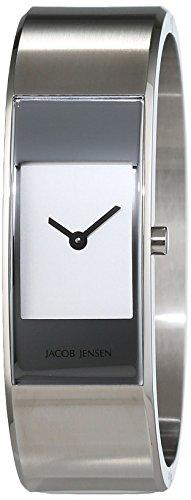 JACOB JENSEN Damen-Armbanduhr Analog Quarz Edelstahl ECLIPSE ITEM NO. 450
