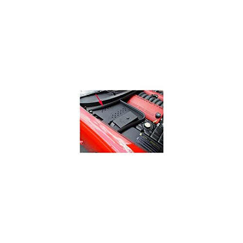 Eckler's Premier Quality Products 25162848 Corvette Battery Den Cover Black