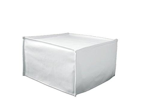 Pouf A Letto Singolo.Ponti Divani Cube Pouf Letto Singolo Con Materasso H 10cm Di Ottima Qualita E Rete Italiana Ecopelle Bianca
