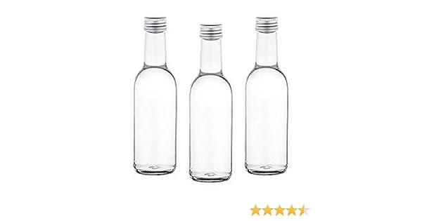 Casavetro 12, 30, 42 botellas de 250 ml, botellas de zumo rectas ...