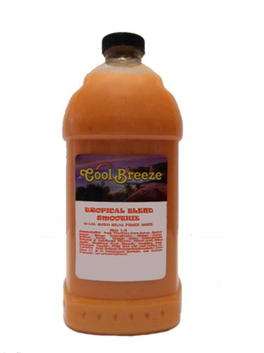 Tropical Blend Frozen Drink Machine Smoothie Mix by Cool Breeze (Image #1)