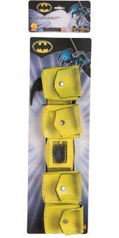 Rubie's Yellow Batman Utility Belt with Bat Gear -