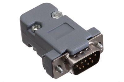 ECore Cables 1101 DB9 Male Crimp Connector Kit - Plastic