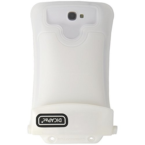 DiCAPac WP-C2 White Waterproof Case for Smartphones up to 5.7-Inches