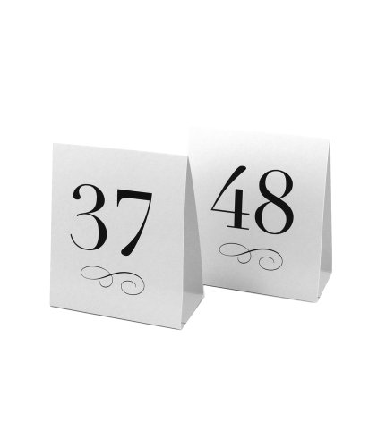 Weddingstar-Table-Number-Tent-Style-Card-Numbers-37-to-48