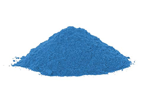 PRISM POWDER COATINGS Powder Coating Paint in Five, 5 Pounds, RAL 5015 Sky Blue High Gloss Polyester Powder Coating Paint, PL-1001-H