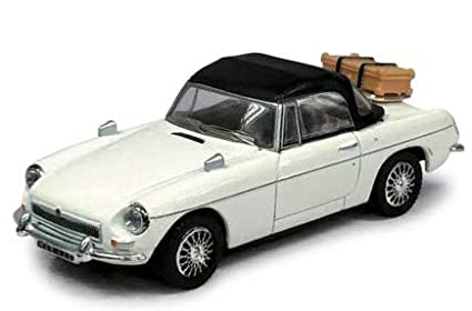 Voiture collection Sixties 1//43 MGB blanche