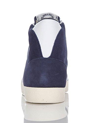ADIDAS Scarpa Uomo PROFI G63951 Sneaker Stivaletto Basket Blue