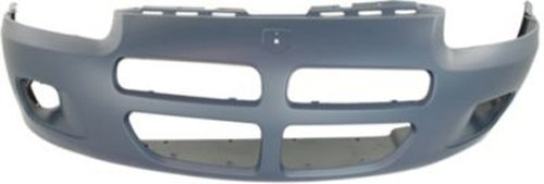 Crash Parts Plus Primed Front Bumper Cover Replacement for 2001-2003 Dodge Stratus Sedan