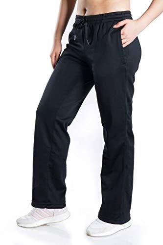 Yogipace, Petite/Regular/Tall, Women's Water Resistant Fleece Pants Winter Lounge Running Sweatpants with Pockets,29