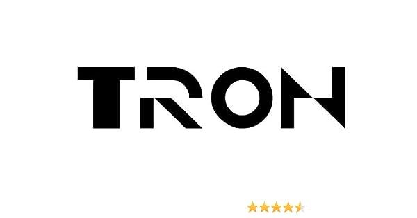 Amazon com: TRON Logo - Decal / Sticker: Automotive