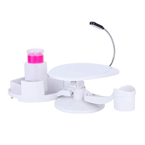 Nail Arm Rest, Multi-functional Manicure Stand Easy to Put Together Home Nail Art Tool Holder With Rest for Nail Salon DIY Manicure Pedicure Nail Art