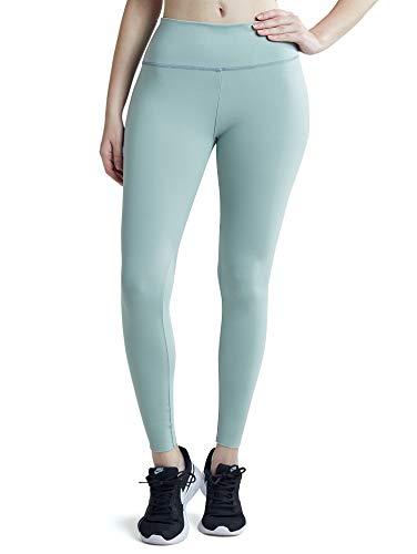 Sunzel Leggings for Women, Super Soft Slimming Leggings with Tummy Control - 2019 Upgraded Version (Lake Green1, L)