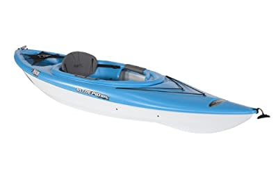 PELICAN PREMIUM Intrepid 100X Kayak, Cyan Blue/White
