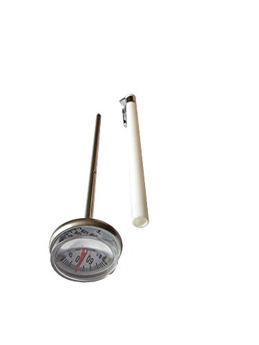 MILJOCO Dial Pocket Thermometer -Stainless Steel - 25 to 125