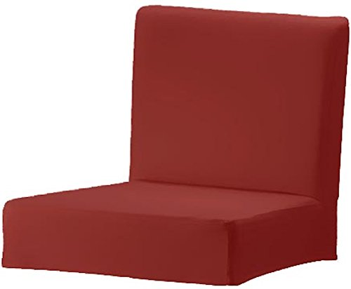The Heavy Duty Cotton Henriksdal Bar Stool with Backrest Cover Replacement is Custom Made for IKEA Henriksdal Bar Stool Chair Cover Or Slipcover (Red)