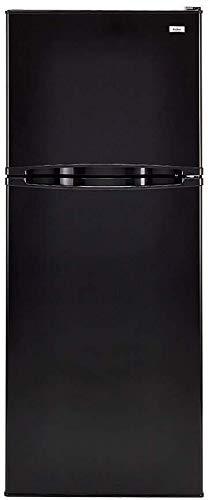Haier 24 HA10TG21SB Inch Freestanding Counter Depth Top Freezer Refrigerator (Black)