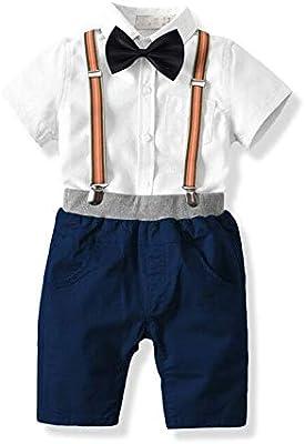 Juego de manga corta Summer Boys Camisa de manga corta de algodón ...