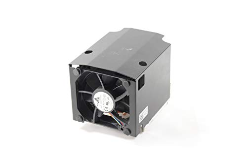 New System Pull 1TD00 Genuine Dell Precision 7000 R7910 Fixed Workstations CPU Type A Heatsink Fan DC brushless DC12V 0.80A Fan Assy 79CFM 9CWCH 8025 80x80x25mm w/ 5p 4w Cable BSLSN