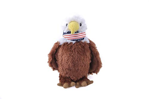 Plushland Adorable American Eagle 8 Inches Plush Stuffed Bird Toys for Kids ()
